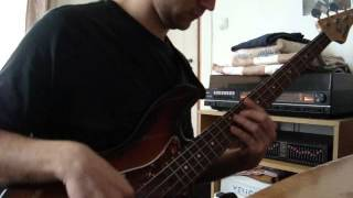The Meters- Tippi Toes /bass cover, Béla Jámbor/
