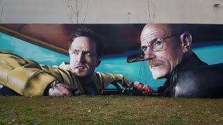 Breaking Bad Graffiti Tribute - Odeith