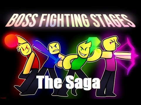 Roblox Boss Fighting Stages Saga