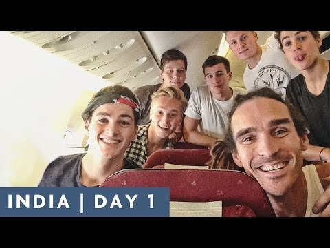 TEAM ASSEMBLE | DAY 1 INDIA ADVENTURE