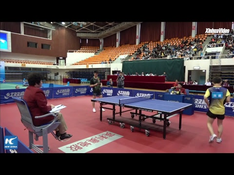 LIVE: Grassroots vs elite: Amateur table tennis players take on top professionals