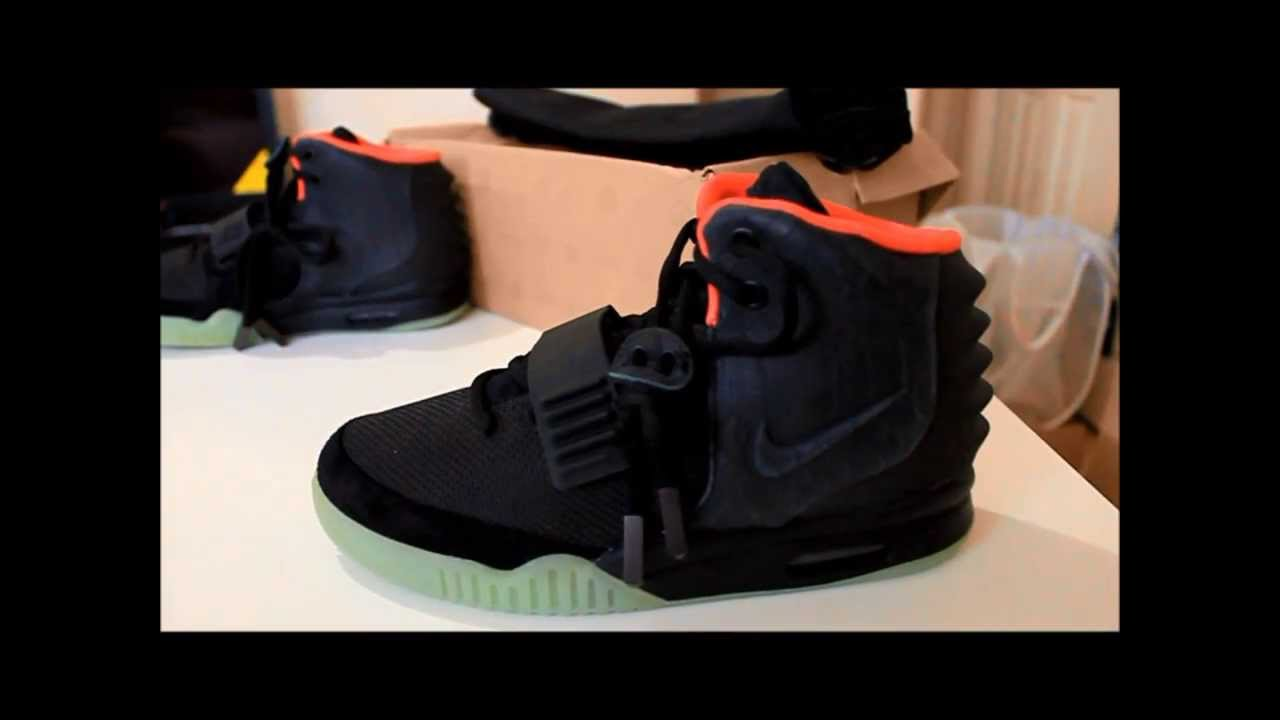 36a517cb7 Nike Air Yeezy 2 Solar Red authentic legit review ( sz 6 ) rare size -  YouTube
