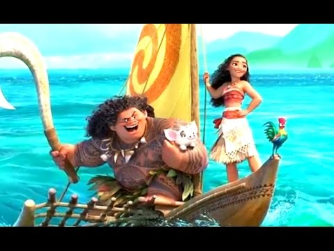 Prepare to Fall in Love With Disney's New Princess, Moana, in This New Sneak Peek