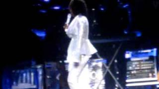 Whitney Houston Birmingham LG - Like I Never Left, Its Not Right and I Am Changing