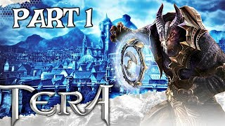 Tera PS4 Walkthrough Part 1 - INTRO & FIRST QUESTS | PS4 Pro Gameplay