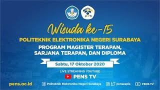 [Live] Wisuda Ke-15 Politeknik Elektronika Negeri Surabaya
