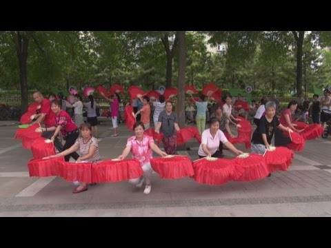 Meet the Grannies of China who won't stop dancing I Channel 4 News