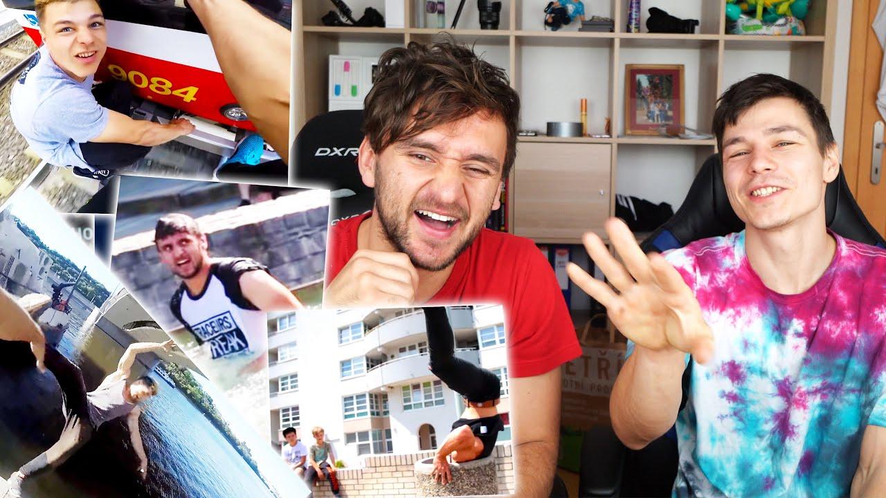 Reagujeme na naše starý videa! w/Vova