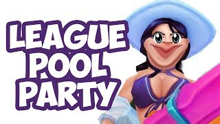 League Pool Party