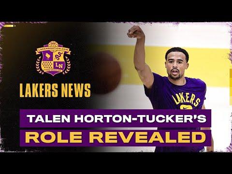 Talen Horton-Tucker's New Lakers Role Revealed
