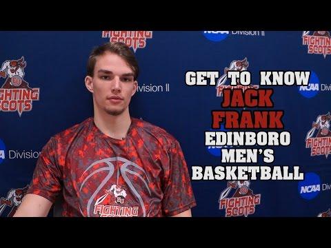 Get to Know: Jack Frank | Edinboro Men's Basketball | #GoBoro