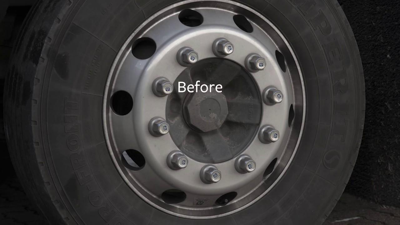 How To Clean Dura Bright Alcoa Wheels Youtube