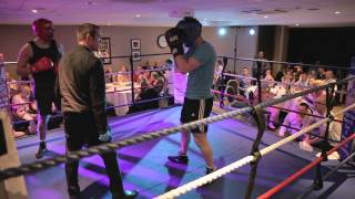 Daniel Smy Vs Jason Gates - Funkin Fitness White Collar Boxing