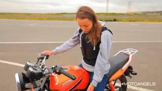 Мотоангелы: Обучение езде на мотоцикле