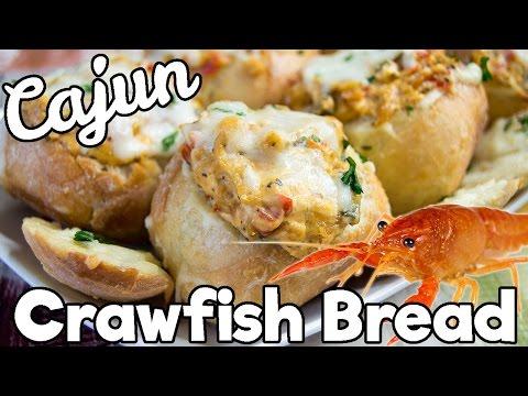 Louisiana Crawfish Bread | MARDI GRAS RECIPE | The Starving Chef