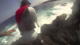 Hard Atlantic shore fight fail