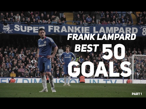 Frank Lampard  ● BEST 50 Goals Ever 1996-2017 ● English Commentary Part 1 | HD