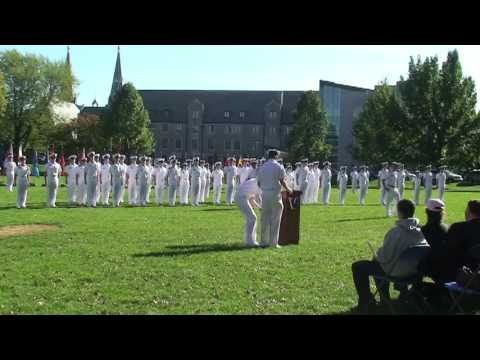 Villanova University Naval ROTC Fall Review and Swearing in Ceremony