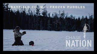 Best Ice Fishing Video - Wisconsin Northwoods | Frozen Puddles