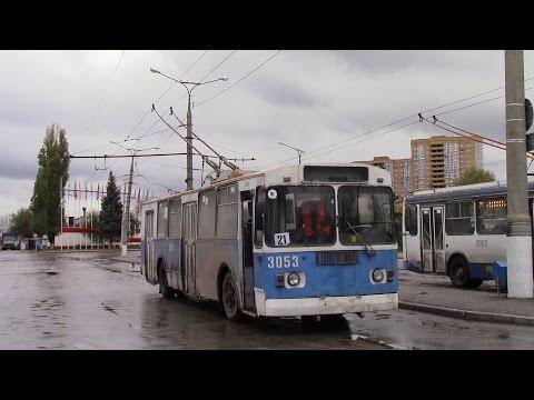 Троллейбусный маршрут № 21 г Тольятти