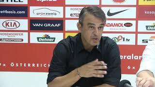 Pressekonferenz nach Admira Wacker vs. Austria Wien