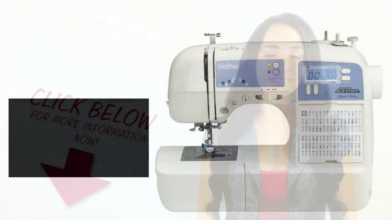 xr9500prw limited edition project runway sewing machine