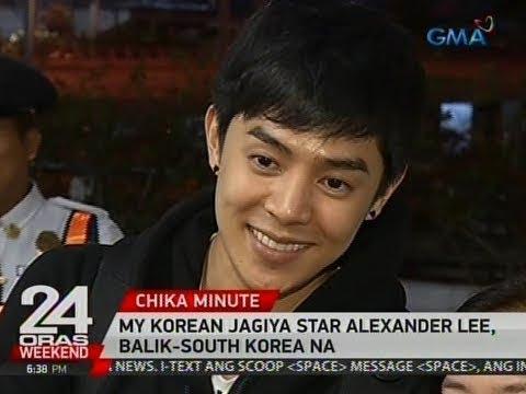 24 Oras: My Korean Jagiya star Alexander Lee, balik-South Korea na