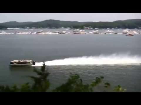 Fastest Pontoon Boat 114 Mph Youtube