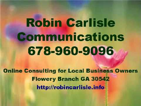 Robin Carlisle Communications Flowery Branch GA Online Consultant 678-960-9096
