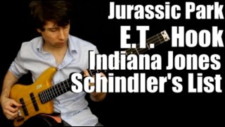 Steven Spielberg/John Williams Movie Medley - Solo Bass - Zander Zon