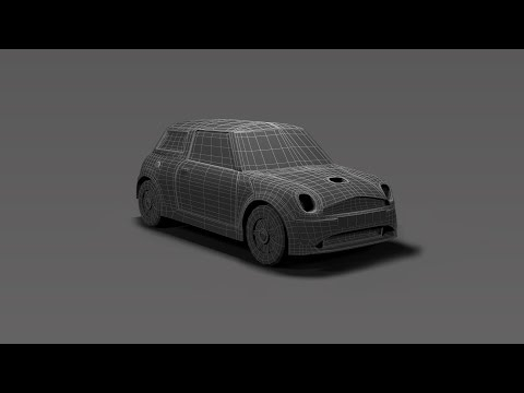Modeling Mini cooper 3DS Max tutorial final part