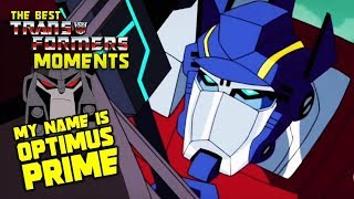 Optimus Prime VS Megatron (Animated) - The Best Transformers Moments