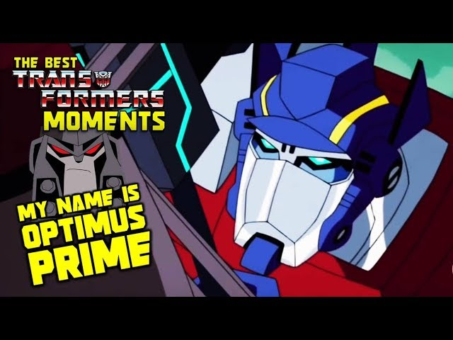 Optimus Prime Vs Megatron Animated The Best Transformers Moments