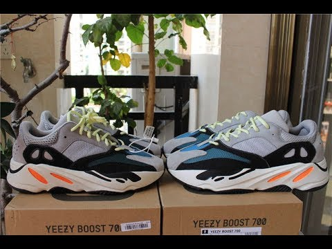 9da600c4688d3 ADIDAS YEEZY 700 WAVE RUNNER AUTHENTIC VS UA REVIEW - YouTube