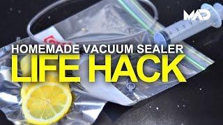 How to make a Vacuum Sealer - Life hacks 2016