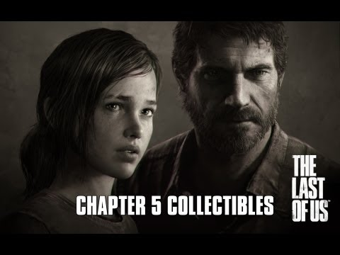 The Last of Us Collectibles Chapter 5 Artifacts, Firefly Pendants, Training Manuals, Jokes, Conversa