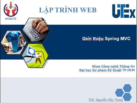 [Lập trình Java Web – Spring MVC] – Bài 01: Giới thiệu SpringMVC
