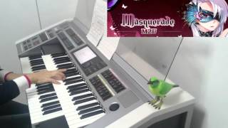 M2U - Masquerade(electone)エムトゥーユー マスカレード エレクトーン演奏