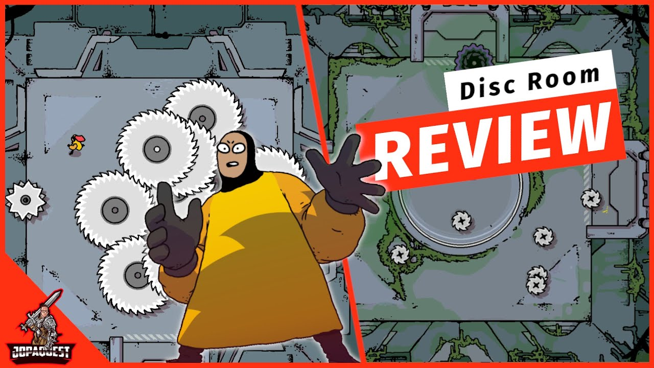Download Disc Room Review - A Chaotic Blend of Discs, Death & Discs