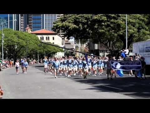Liberty HS Marching Band | 2012 King Kamehameha Celebration Floral Parade