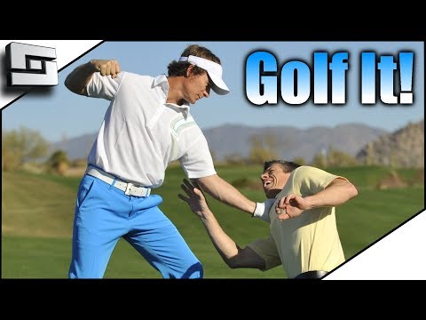 Funny Rage Mode Golf Game! Golf It w/ The Pojkband! Funny Moments!