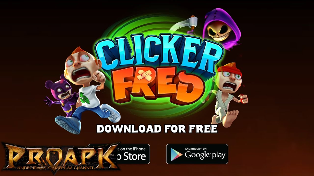 Clicker Fred Gameplay Android / iOS