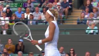 Best doubles points from Wimbledon 2017
