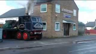 Steam lorry acceleration