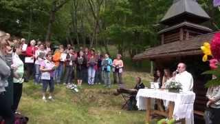 Ranspach, la fête à la clairière  du Dengelberg, le 17 mai 2015
