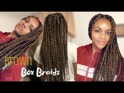 Hairstyles For Girls Black Box Braids 88