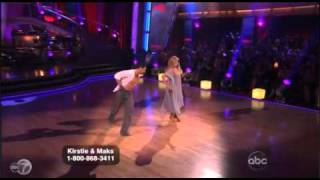 Kirstie Alley Falls and Gracefully Recovers on Dancing With the Stars