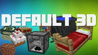 3D Minecraft Texture Pack for 1.9, 1.10  & 1.11!   Link is in the Description!