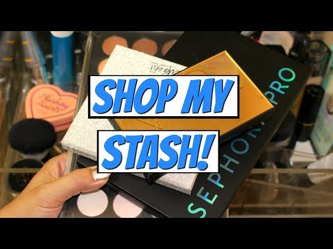 Shop My Stash/Everyday Makeup Drawer! 2017 | DreaCN