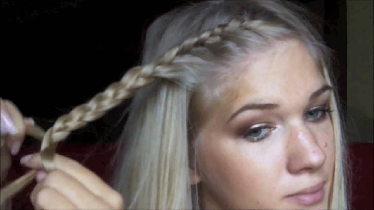 Tuto Coiffure Tresses Revisitees Youtube